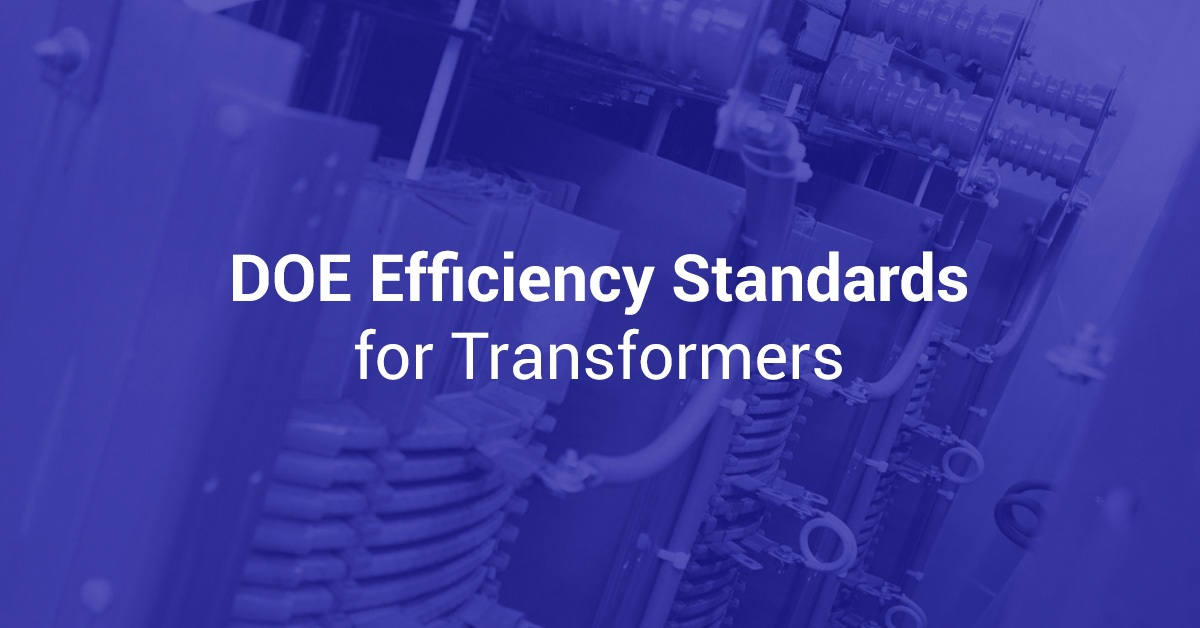 DOE Efficiency Stands for Transformers.